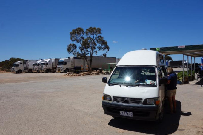 baxter rest area caiguna nullarbor plain